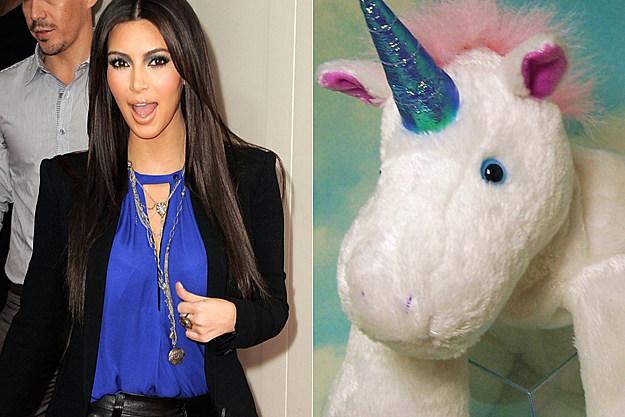 Kim Kardashian's unicorn sex tape?