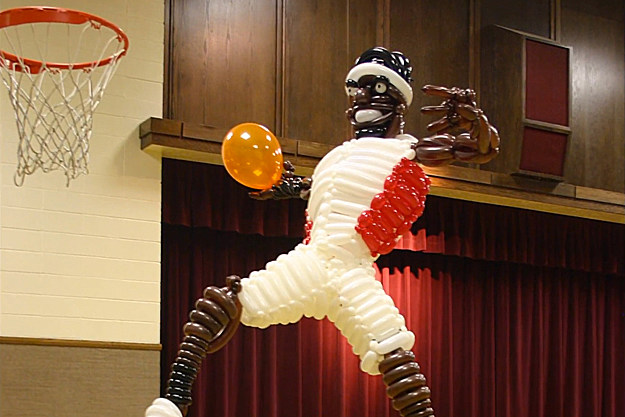 LeBron James Balloon Sculpture