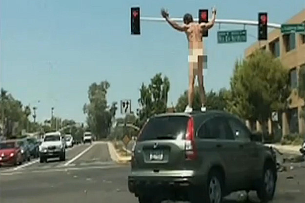 Naked Carjacker