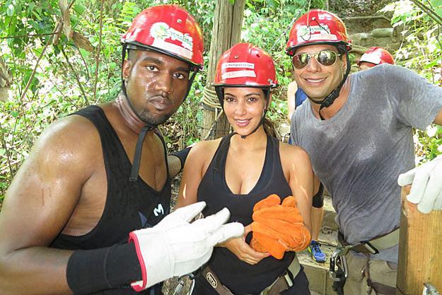 Kanye-West-Kim-Kardashian- Joe Francis