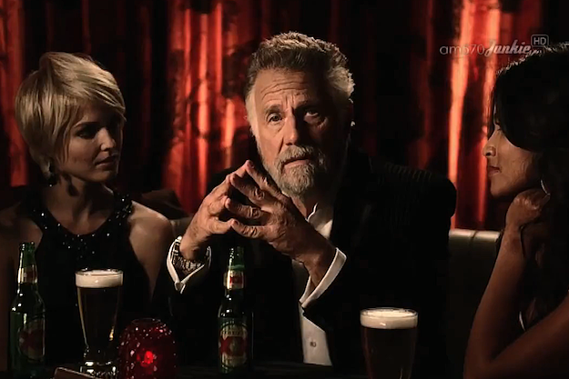 Most Interesting Man In the World Endorses Obama