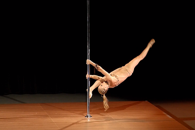 Michelle Stanek Olympic Pole Dancing