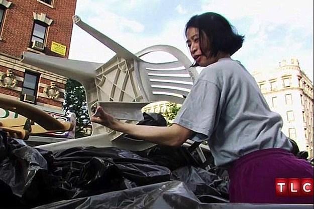 Kay Hashimoto Dumpster Diving
