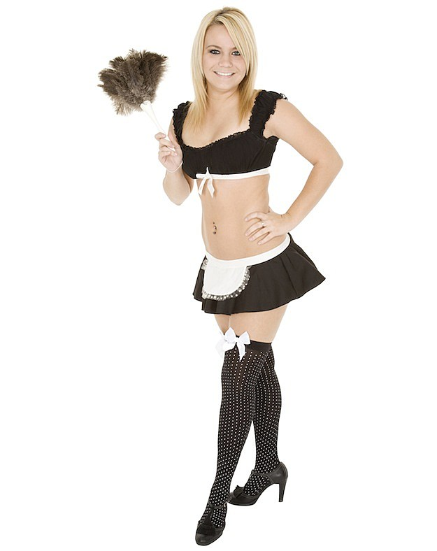 Teacher Dresses Up as French Maid