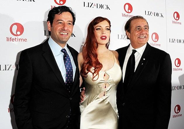Liz & Dick premiere pics