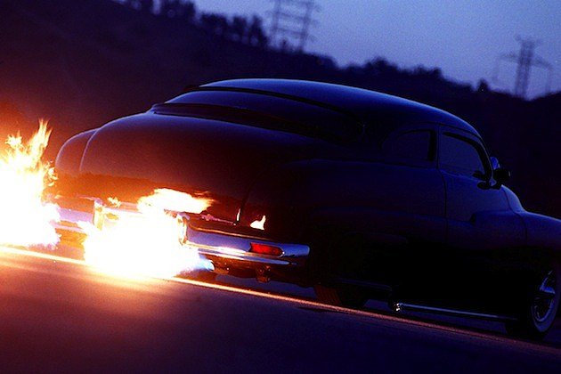 DEAN BRYANT'S FLAME THROWING 1950'S MERCURY
