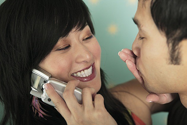 Kissing Phone