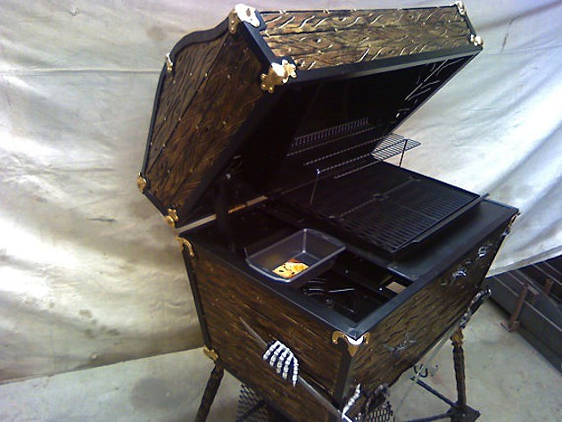 Pirate Chest BBQ
