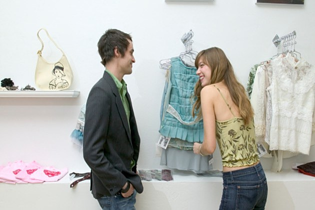 Man talking to girl