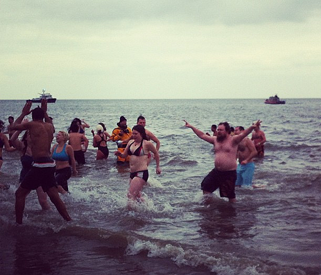 Coney Island Polar Bear Swim Pics