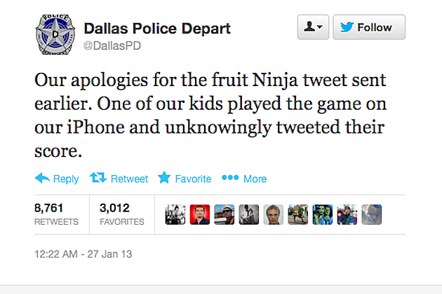 Dallas PD Twitter