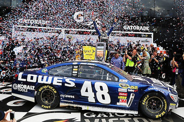 Jimmie Johnson 2013 Daytona 500