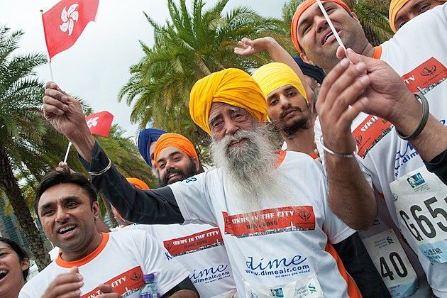 Fauja Singh World's Oldest Marathoner