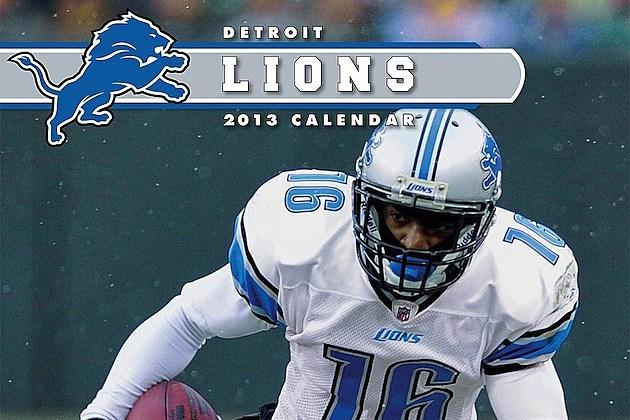2013 Detroit Lions Calendar