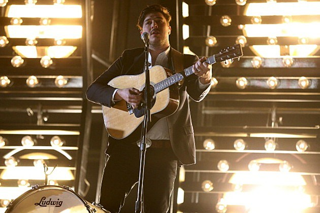 Mumford & Sons performs onstage during the 55th Annual GRAMMY Awards