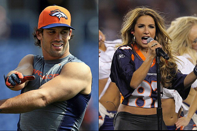 Eric Decker Jessie James