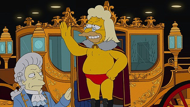 Simpsons - Gorgeous Grampa harlem shake edition