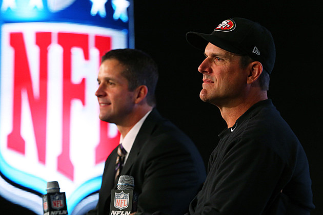 Harbaugh brothers press conference