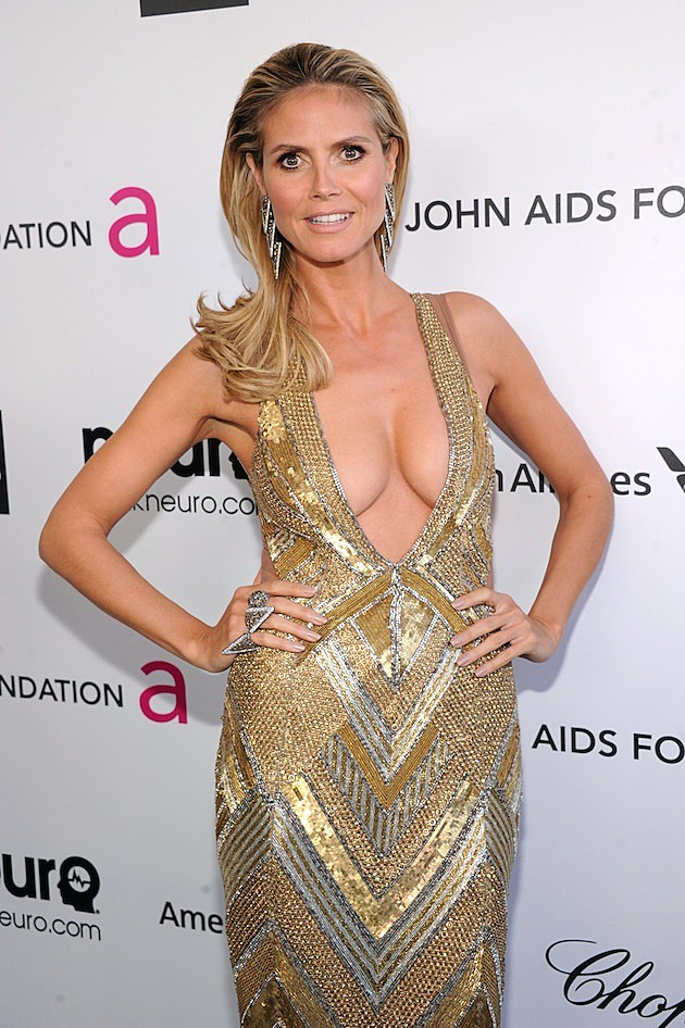 Heidi Klum Oscars Party