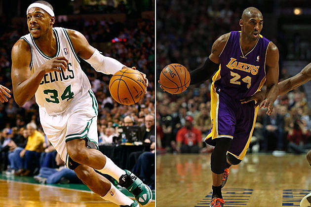 Paul Pierce, Kobe Bryant