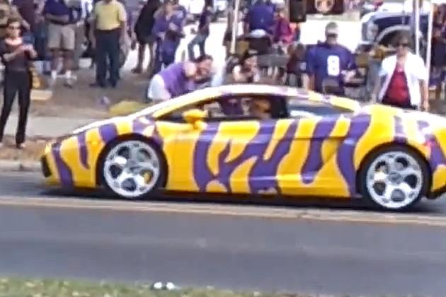 LSU Lamborghini