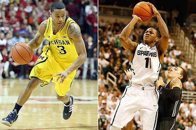 Trey Burke, Keith Appling