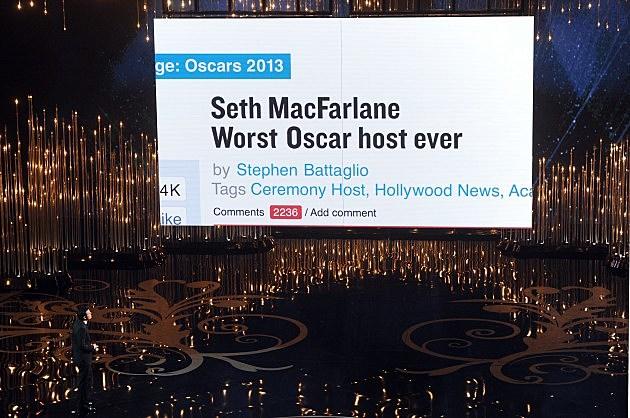 Seth MacFarlane Opening Monologue