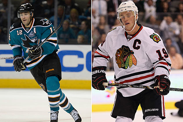 Sharks-Blackhawks
