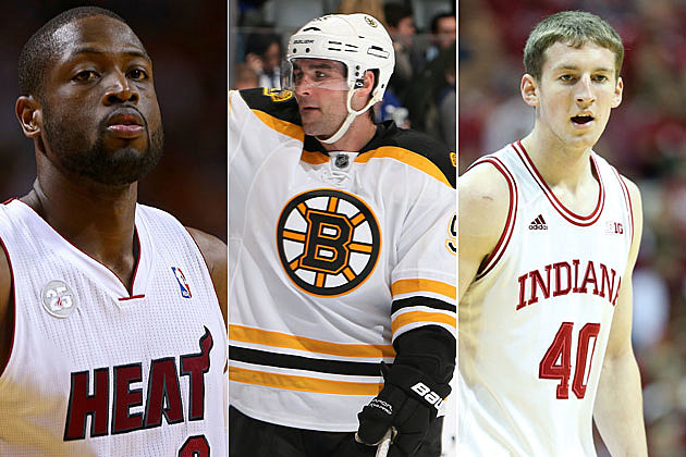 Heat, Bruins, Hoosiers