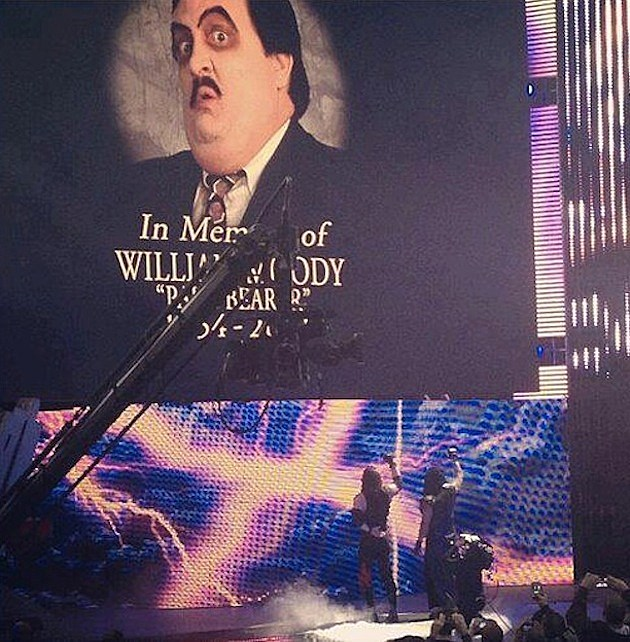 Paul Bearer Tribute Raw