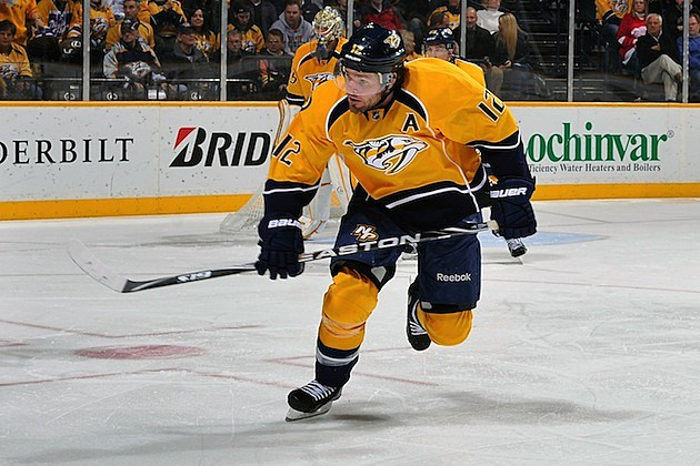 Mike Fisher Nashville Predators