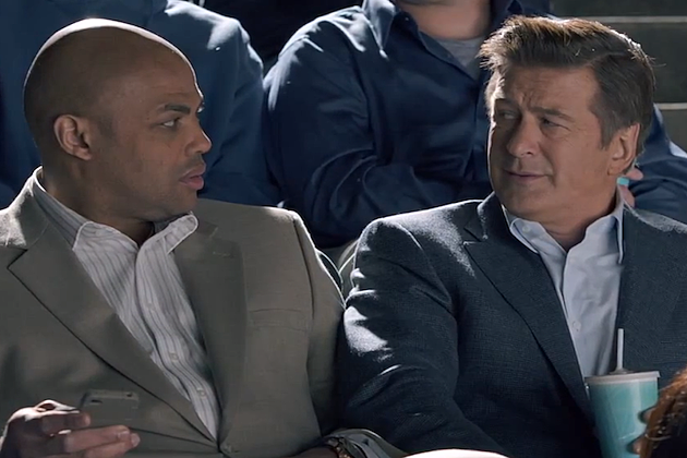 Charles Barkley Alec Baldwin Capital One