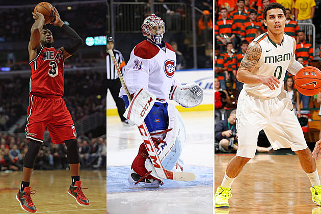 Heat, Canadians, Hurricanes
