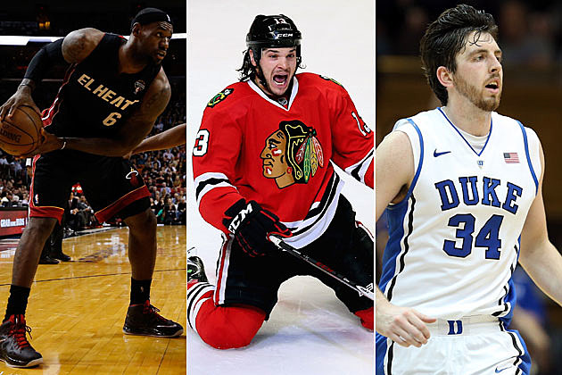 Heat, Blackhawks, Blue Devils