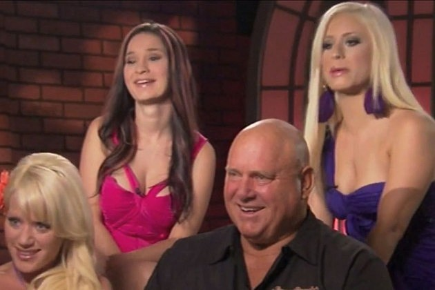 Dennis Hof and his Bunnies