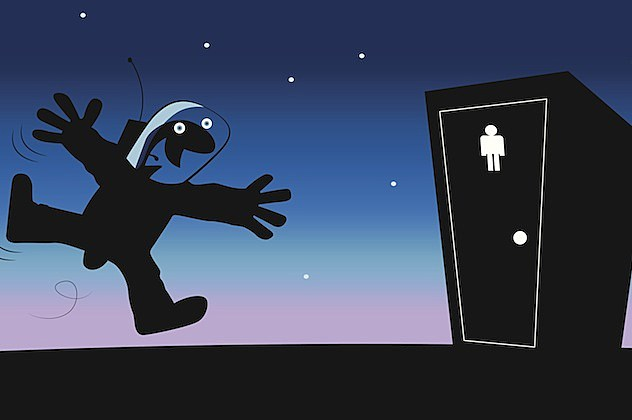 Poop In Space