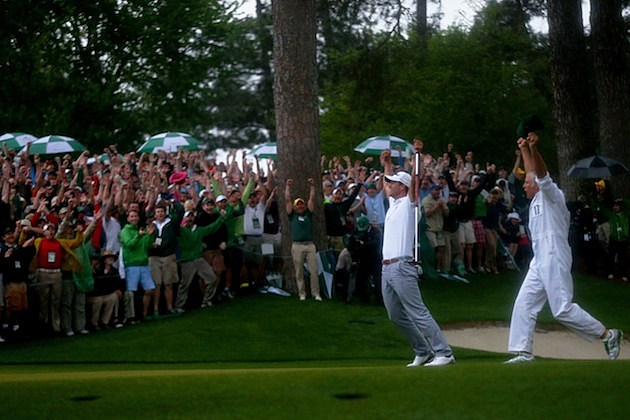 Adam Scott The Masters