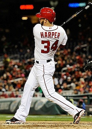 Washington Nationals Bryce Harper