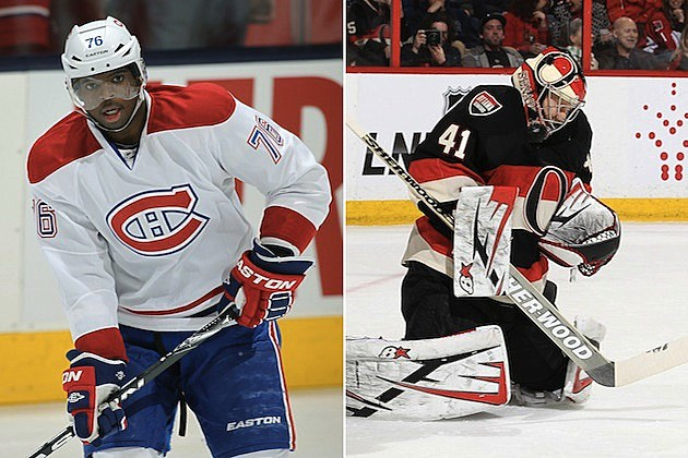 Canadiens Senators