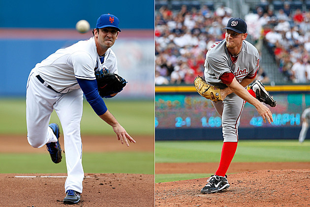Matt Harvey vs Stephen Strasburg