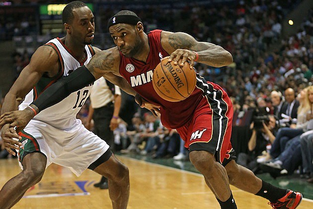 LeBron James Leads Heat Sweep