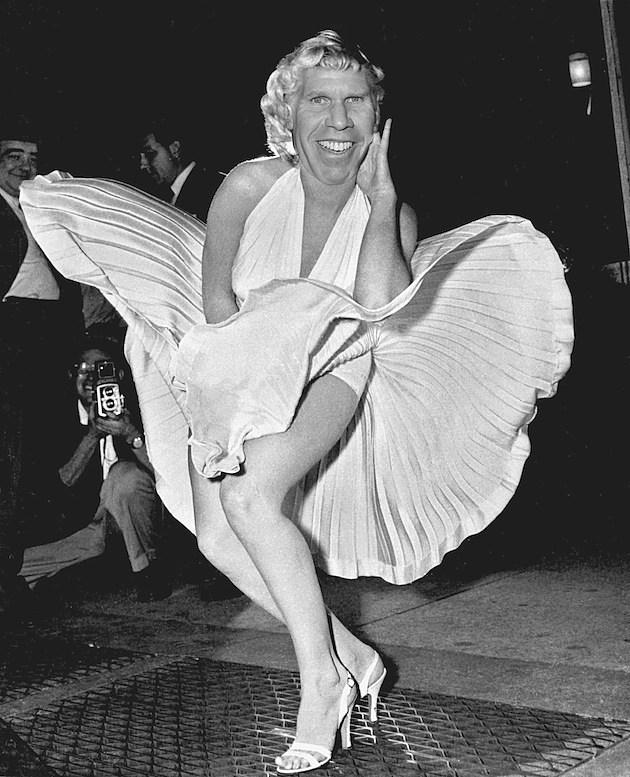 Ron Perlman as Marilyn Monroe