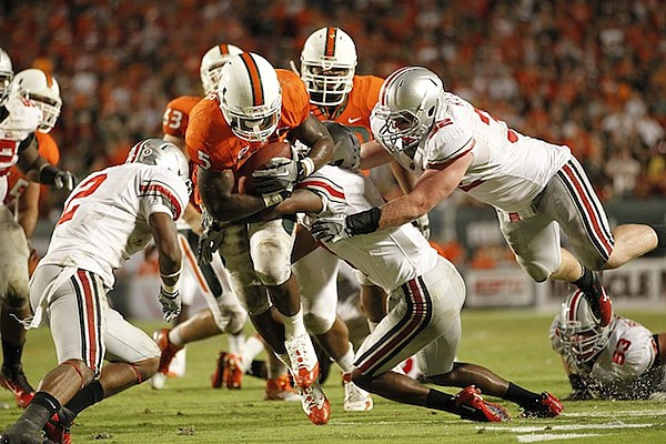 'Up to Speed' with Mike James — Miami Hurricanes' RB Used ...