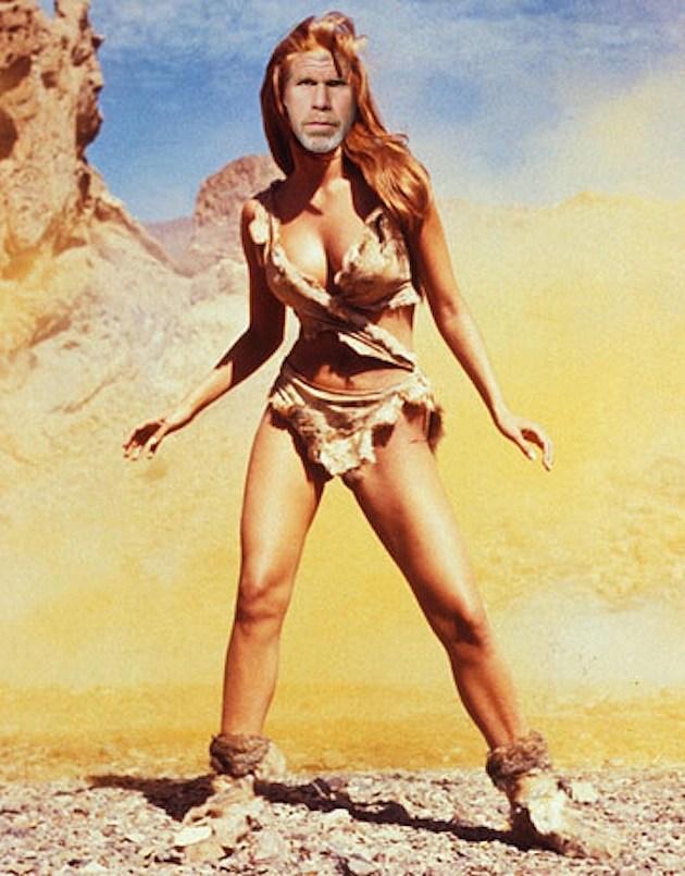 Ron Perlman as Raquel Welch