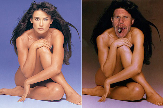 Ron Perlman as Demi Moore