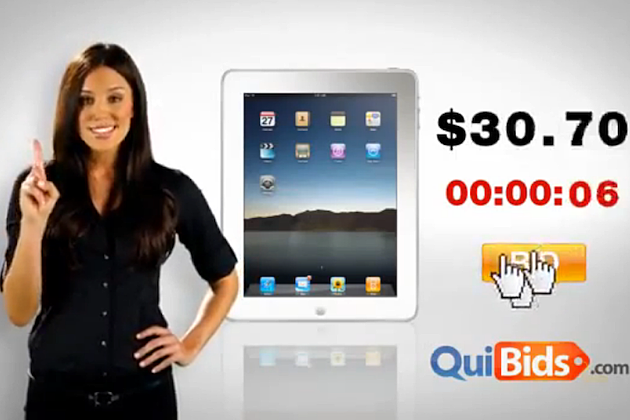 Hot Girl Quibids Commercial