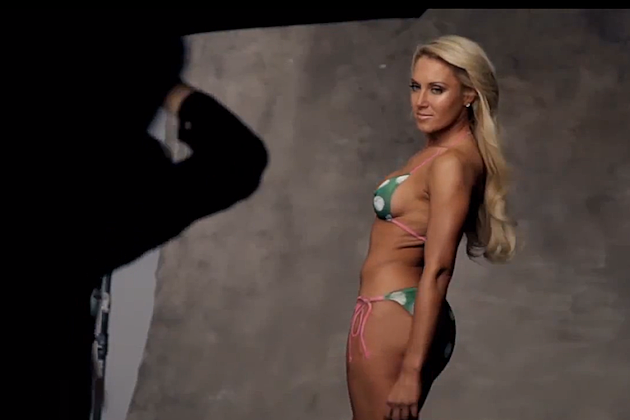 Natalie Gulbis Body Paint