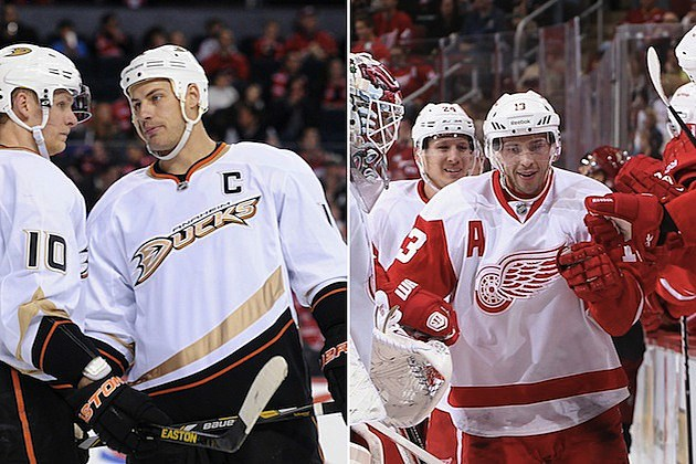 Ducks-Red Wings