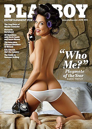 Playboy Playmate of the Year Cover