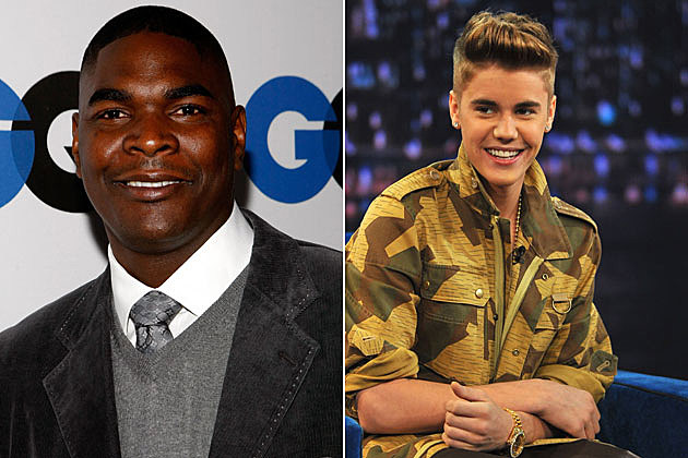 Keyshawn Johnson, Justin Bieber